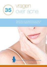 Printversie '35 vragen over acne' - Huidfonds