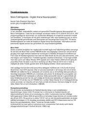 Projektredovisning - Folkbildningsnätet