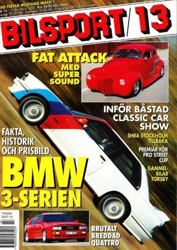 1993 - Svenska M3 E30 Registret