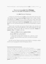 Heeresversorgung im frühen Prinzipat. Eine Art, die Antike - CEIPAC