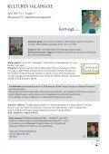 Kulturelle foreninger i Gladsaxe - Vi holder Kulturen i - Page 3