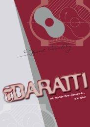 Firmen-Prospekt (pdf 1 4 MB) - Baratti Engineering Gmbh