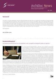 Archidoc News n° 1 (.pdf) - Service des victimes de la guerre