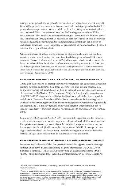 Miljö, ekonomi och politik 2012 - Konjunkturinstitutet