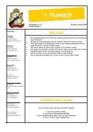 Uitgave 6 Jaargang 2 (4 maart 2007) - SV Reünie' 76 - De Reünie
