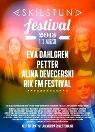 Om festivalen - Eskilstuna