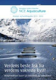 Strategi- og handlingsplan 2011-2012 - NCE Aquaculture