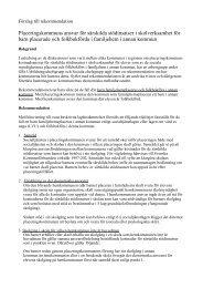 Placeringskommuns ansvar för särskilda stödinsatser - GR Utbildning