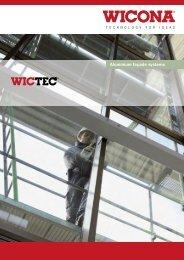 Aluminium façade systems - Wicona