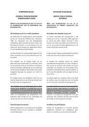 Klik hier voor meer inlichtingen over de in - Algemene Directie ...