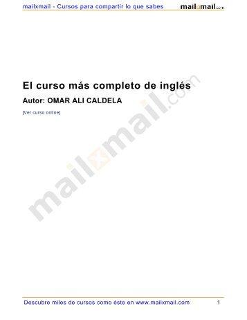 El curso más completo de inglés - sisman