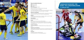 Program - Innebandy.se