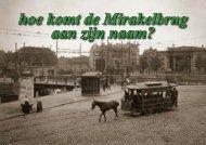 hoe komt de Mirakelbrug aan zijn naam? - theobakker.net