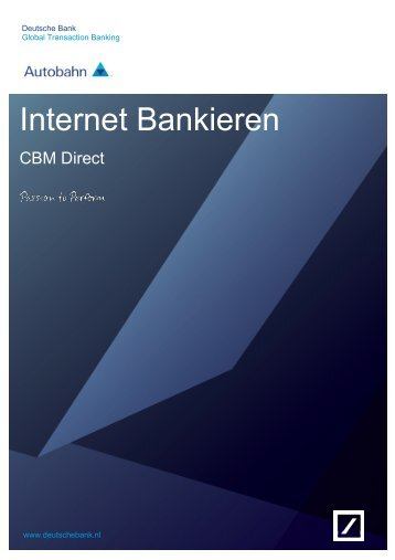 Clientbeheermodule - Deutsche Bank
