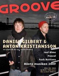 DANIel GIlBeRT & ANToN KRIsTIANssoN - Groove