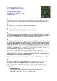 minnesanteckningar från mötet 11 april 2013 på ... - Ivösjökommittén