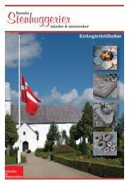 Gravstedstilbehør A5 sider.indd - Danske Stenhuggerier A/S