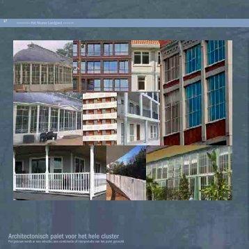 Architectonisch palet voor het hele cluster - Gemeente Ede