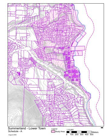 89ed92863e0301 Lower Town Strategic Plan - Maps - Summerland