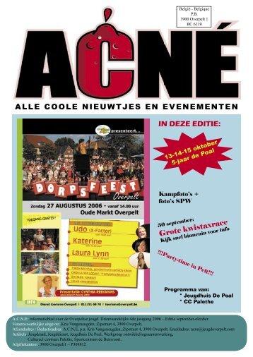 Editie september 2006 - Overpeltse jeugdraad