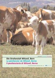 Die Strafanstalt Witzwil, Bern Le pénitencier de Witzwil, Berne Il ...
