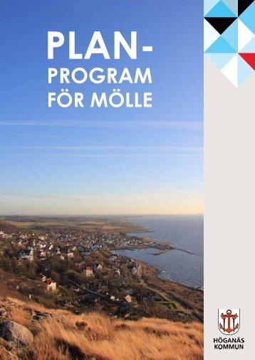 Planprogram för Mölle - Höganäs kommun
