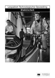 Lespakket: Technologische Opvoeding Elektriciteit - Technopolis