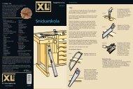 Snickarskola - XL Bygg