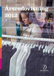 Årsredovisning 2012 - Diligentia