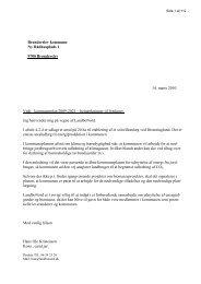 bemærkninger og indsigelser til kommuneplanen