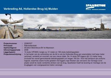 Hollandse Brug - Spanbeton