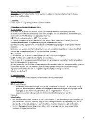 14 januari 2012 1 Notulen MR vergadering 9 januari ... - De Watersnip
