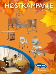 SEPTEMBER 2009 Invacare® Norge - Invacare Norge