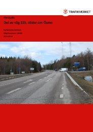 Förstudie Del av väg 225, söder om Ösmo - Nynäshamns kommun