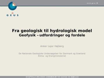 Fra geologisk til hydrologisk model - Gerda
