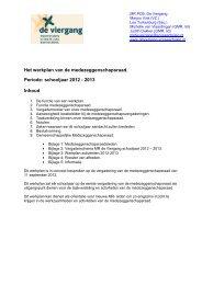 MR werkplan 2012-2013