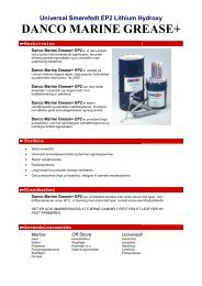 DANCO MARINE GREASE+ - Scandic-oil