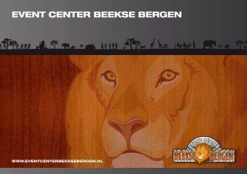 Brochure - Event Center Beekse Bergen