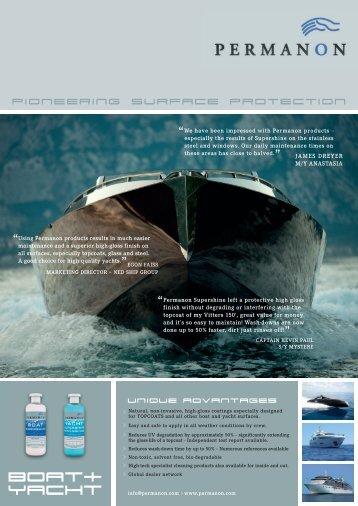 Marine Brochure - Permanon USA