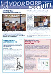 Nummer 5, December 2011 - Voordorp Vooruit