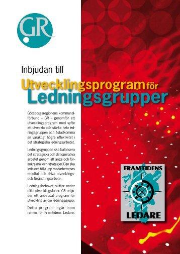 Utvecklingsprogram för Ledningsgrupper.pdf - Göteborgsregionens ...