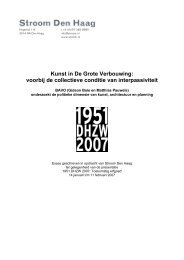 BAVO (Gideon Boie en Matthias Pauwels) - Stroom Den Haag