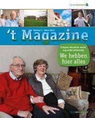 't Magazine - nummer 1 - maart 2013 - Goed Wonen