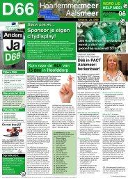 Lees hier de december nieuwsbrief. - D66 Haarlemmermeer
