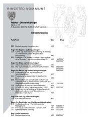 Referat - Økonomiudvalget - Ringsted Kommune
