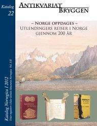 22 – Norvegica I - Antikvariat Bryggen