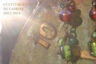 CULTUURCENTRUM DE FABRIEK 2012/2013 - Sint-Lievens-Houtem