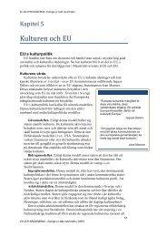 Kapitel 5 - Kulturen och EU - Stiftelsen Skånsk Framtid