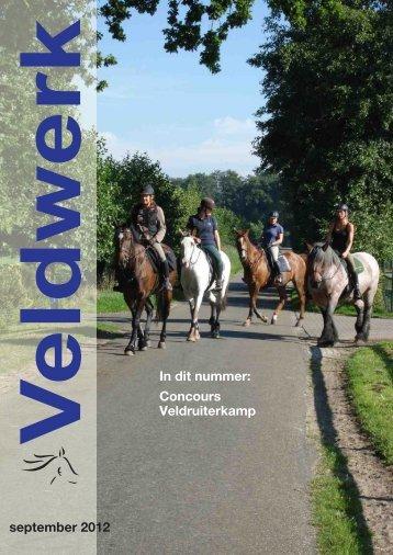 Veldwerk september 2012 - Veldruiters