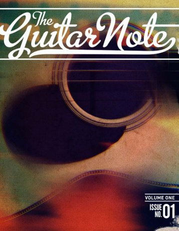Issue One – PDF – 19 MB - The Guitar Note